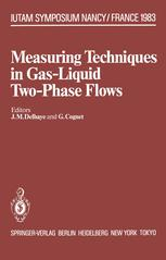 Measuring Techniques in Gas-Liquid Two-Phase Flows