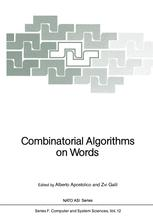 Combinatorial Algorithms on Words