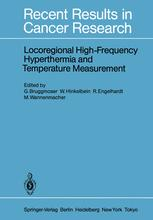 Locoregional High-Frequency Hyperthermia and Temperature Measurement