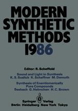 Modern Synthetic Methods 1986
