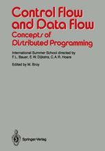 Control Flow and Data Flow: Concepts of Distributed Programming