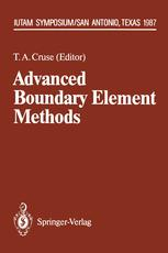 Advanced Boundary Element Methods