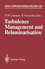 Turbulence Management and Relaminarisation