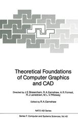 Theoretical Foundations of Computer Graphics and CAD