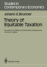 Theory of Equitable Taxation