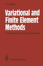 Variational and Finite Element Methods