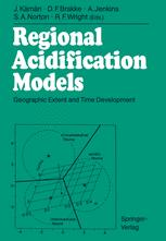 Regional Acidification Models