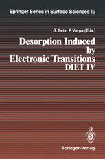 Desorption Induced by Electronic Transitions DIET IV