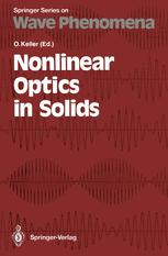 Nonlinear Optics in Solids