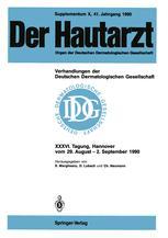 Supplementum X, 41. Jahrgang 1990 Verhandlungen der Deutschen Dermatologischen Gesellschaft