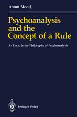 Psychoanalysis and the Concept of a Rule