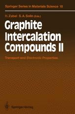 Graphite Intercalation Compounds II