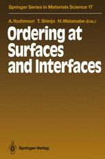 Ordering at Surfaces and Interfaces