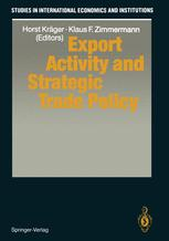 Export Activity and Strategic Trade Policy