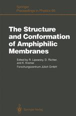 The Structure and Conformation of Amphiphilic Membranes