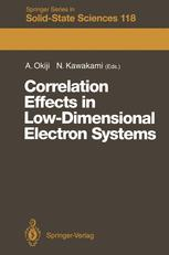 Correlation Effects in Low-Dimensional Electron Systems