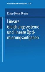 Lineare Gleichungssysteme und lineare Optimierungsaufgaben