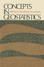 Concepts in Geostatistics