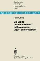 Die Lipide des normalen und pathologischen Liquor cerebrospinalis