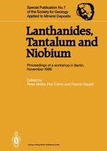 Lanthanides, Tantalum and Niobium
