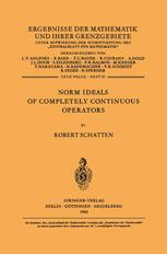 Norm Ideals of Completely Continuous Operators