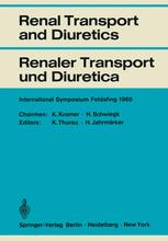 Renal Transport and Diuretics / Renaler Transport und Diuretica