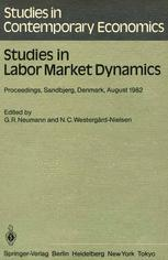 Studies in Labor Market Dynamics