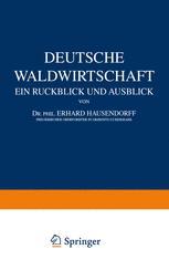 Deutsche Waldwirtschaft
