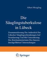 Die Säuglingstuberkulose in Lübeck