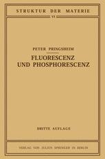 Fluorescenz und Phosphorescenz im Lichte der Neueren Atomtheorie