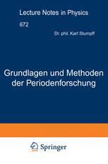 Grundlagen und Methoden der Periodenforschung