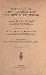 Vorlesungen Über Integral- und Differentialrechnung