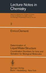 Determination of Liquid Water Structure