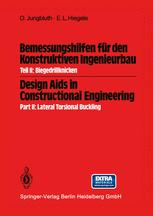 Bemessungshilfen für den Konstruktiven Ingenieurbau / Design Aids in Constructional Engineering