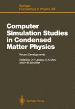 Computer Simulation Studies in Condensed Matter Physics