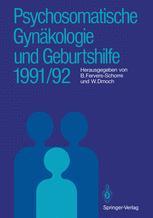 Psychosomatische Gynäkologie und Geburtshilfe 1991/92