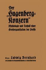 """Der """"Hugenberg-Konzern"""""""