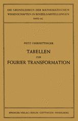 Tabellen zur Fourier Transformation