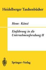 Einführung in die Unternehmensforschung II