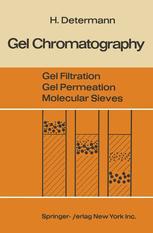 Gel Chromatography Gel Filtration · Gel Permeation · Molecular Sieves