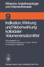 Indikation, Wirkung und Nebenwirkung kolloidaler Volumenersatzmittel