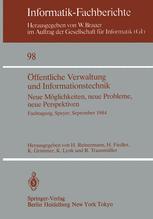 Öffentliche Verwaltung und Informationstechnik