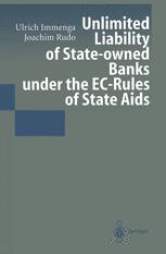 Unlimited Liability of State-owned Banks under the EC-Rules of State Aids