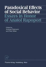 Paradoxical Effects of Social Behavior