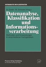 Datenanalyse, Klassifikation und Informationsverarbeitung