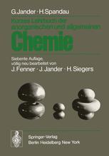 Kurzes Lehrbuch der anorganischen und allgemeinen Chemie