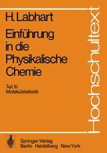 Einführung in die Physikalische Chemie