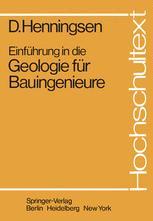 Einführung in die Geologie für Bauingenieure