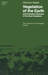 Vegetation of the Earth and Ecological Systems of the Geo-biosphere