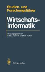 Studien- und Forschungsführer Wirtschaftsinformatik